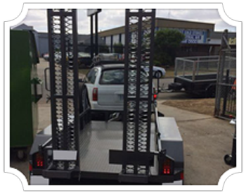 Scissorlift Trailers Albury NSW